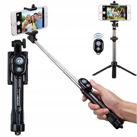Kij selfie - tripod, statyw. Bluetooth - Pilot Uniwersalny Android/IOS