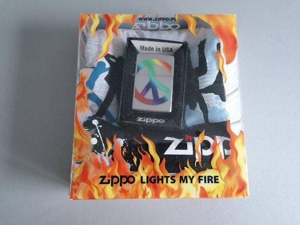 Nowa Zippo w zestawie z koszulką