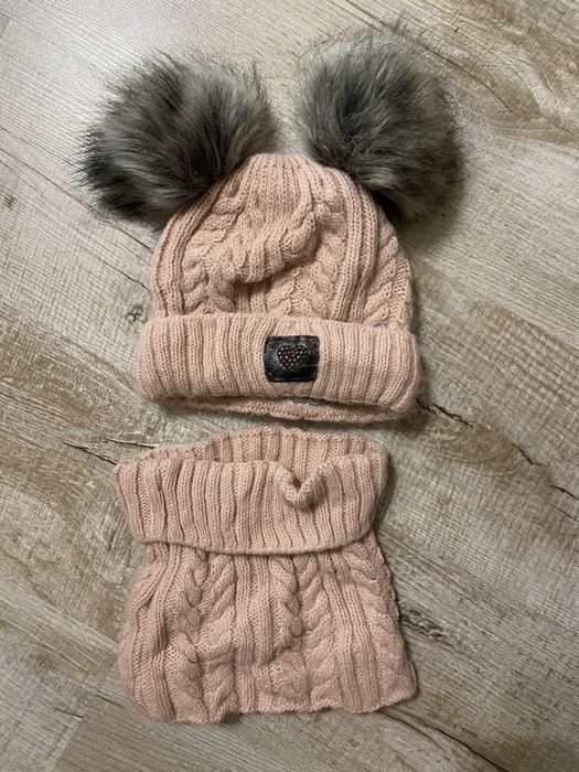 Комплект шапка і шарф Ужгород - изображение 1