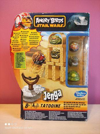 Gra dziecięca, zręcznościowa Jenga od Hasbro Angry Birds Star Wars