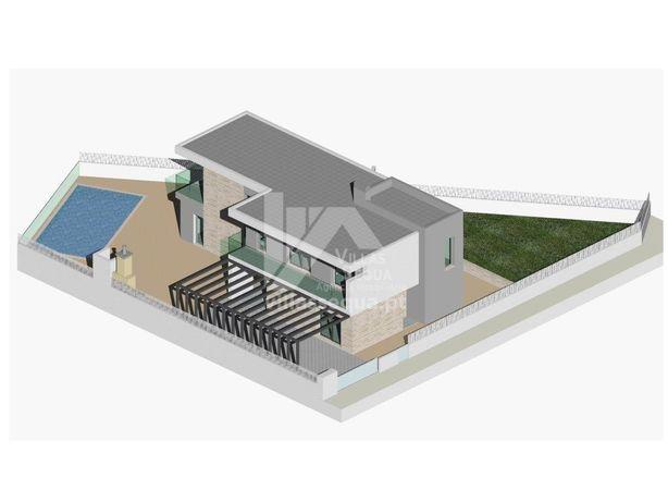 Moradia V3 nova com piscina e jardim a 3kms da Praia Verd...