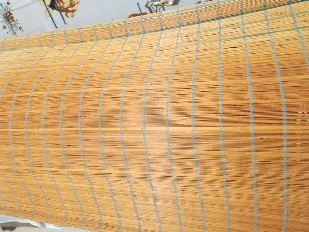 Cortinado Bambu muito grande