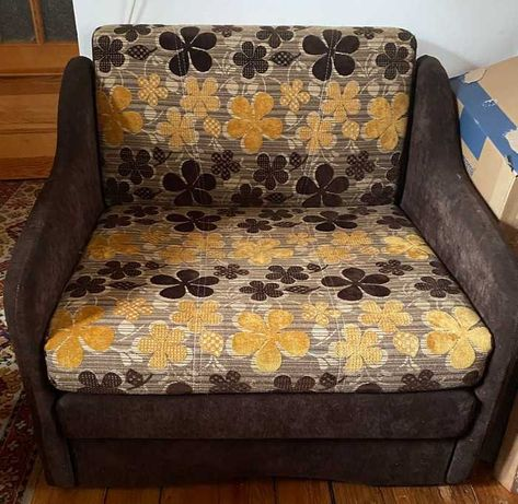 Pilna Sprzedaż_SUPER CENA_Sofa 1osobowa/fotel rozkładany z pojemnikiem