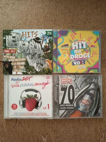 Płyty CD z hitami