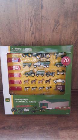 Ферма - игровой набор John Deere с машинами на 70 предметов из США