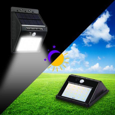 Уличный свет светильник, фонарик, прожектор в двор с датчиком движения