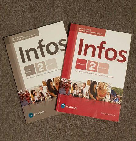 Infos 2 podręcznik do j. niemieckiego + ćwiczenia