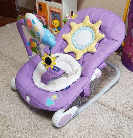 Детский шезлонг Chicco (кресло-качалка)