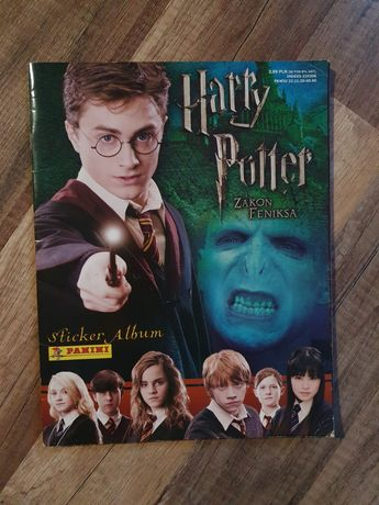 Album Panini Harry Potter i Zakon Feniksa
