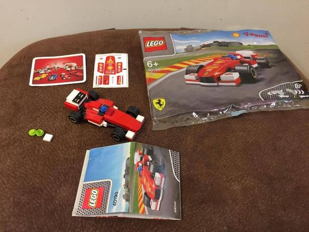 LEGO Racers klocki auto samochód 40190