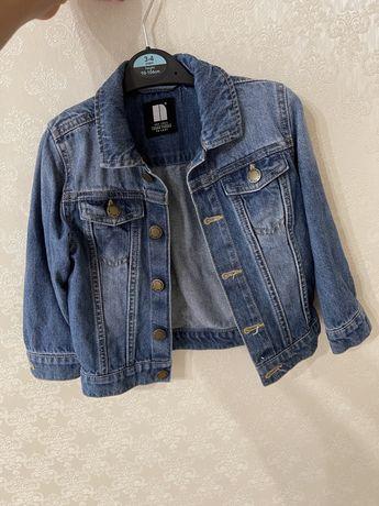 Курточка джинсовая Next