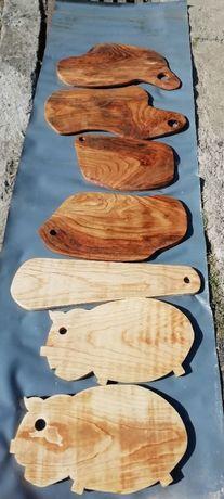 Deska do krojenia drewniana rękodzieło, deski na sery wędliny