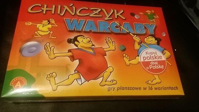 GRA planszowa Chińczyk/Warcaby