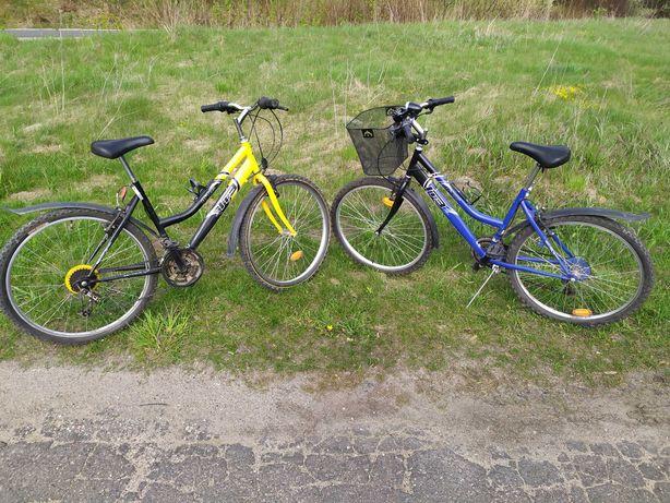 Rowery używane 2 sztuki