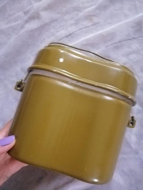 Полевой котелок посуда