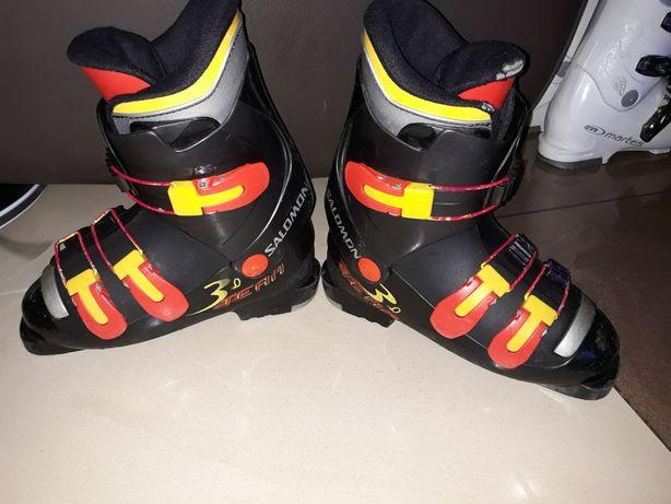 buty narciarskie Salomon dziecięce r. 35 / 22,5cm wkładka