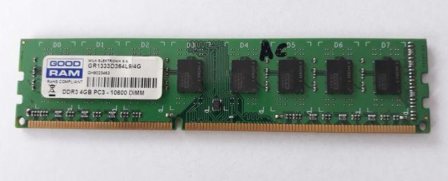 Pamięć GoodRam 4GB 1333MHz
