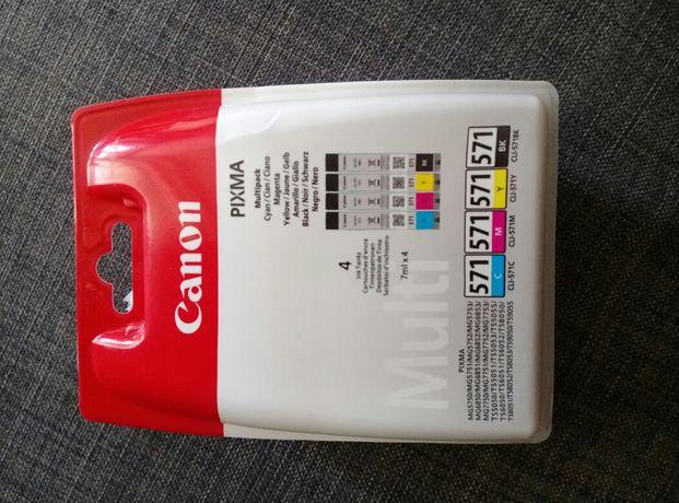 Oryginalne tusze Canon CLI-571 CMYK