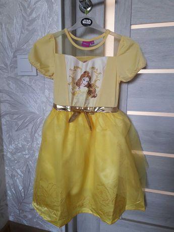 Платье нарядное белль 6 лет. disney. красавица и чудовище.