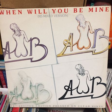 Vinil Single: Average White Band - when will you be mine - 1979