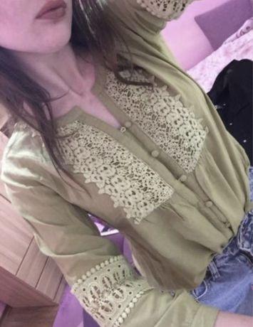 Винтажная блуза отдам