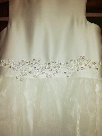 Sukienka komunijna 140 cm