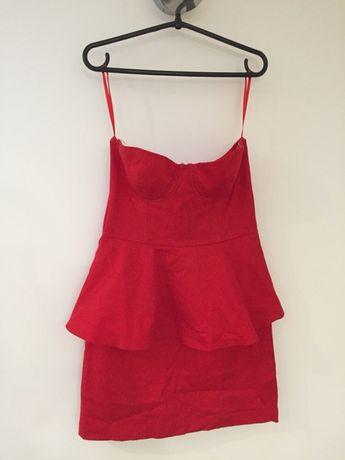 Sukienka bez ramiączek r 42 H&M bardzo dobry stan