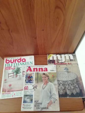 Revistas de crochet em alemão