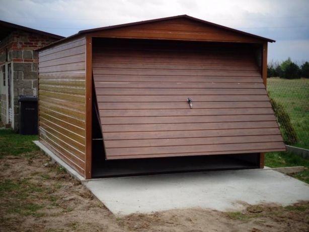 Blaszaki 3x5 blaszak Budowa Garaż blaszany Garaże blaszane WZMOCNIONE