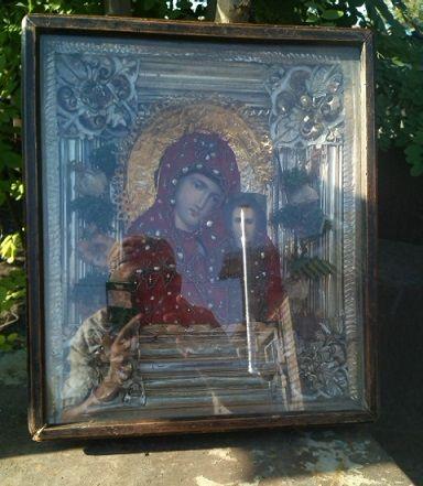 Продам икону Казанской божьей матери