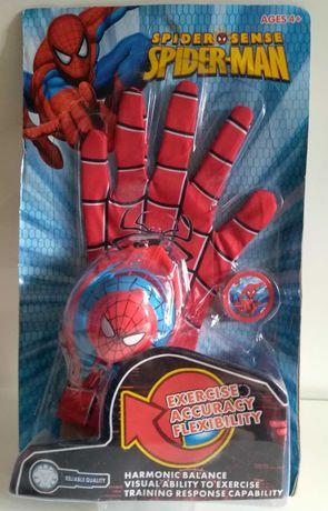 Rękawica Spidermana z wyrzutnią, nowa dla chłopca,zabawka