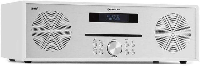 Radio sieciowe DAB+ FM BT USB CD PILOT Auna Silver Star