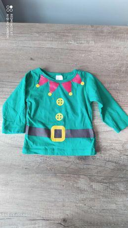 Bluzka chłopięca, świąteczna, święta Boże Narodzenie rozm. 62-68
