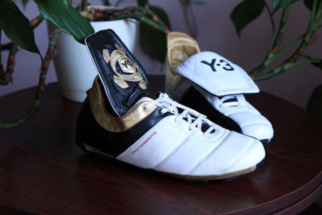 Yohji Yamamoto Y-3 коллекционные кожаные бутсы кроссовки р.45 оригин