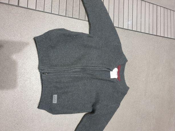 Sweterek Zara kardigan rozpinany 80