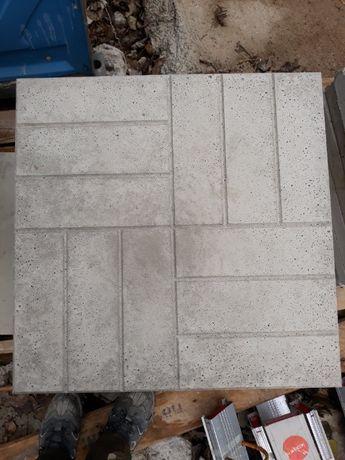 Płytki chodnikowe z betonu