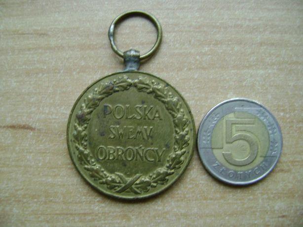 Starocie z PRL - Militaria = Medal Polska Swemu Obrońcy