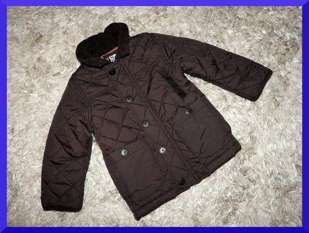 104 cm NEXT pikowana modna kurteczka WIOSENNA chłopiec