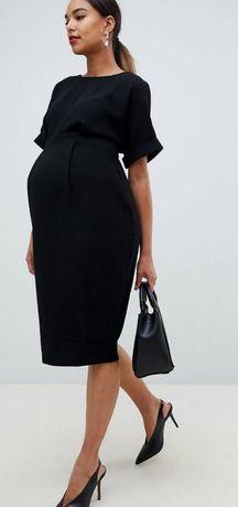 Платье для беременных Asos, платье черное Asos