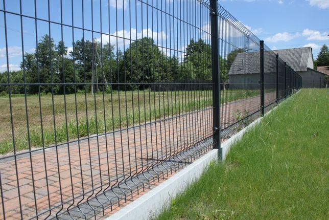 Ogrodzenie panelowe Panele ogrodzeniowe komplet BUKOWINA TATRZAŃSKA