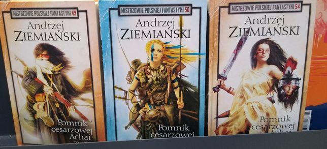 Ziemiański Pomnika cesarzowej Achai Mistrzowie polskiej fantastyki