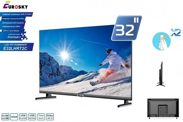 Телевизор Eurosky 32 E32LHRT2C