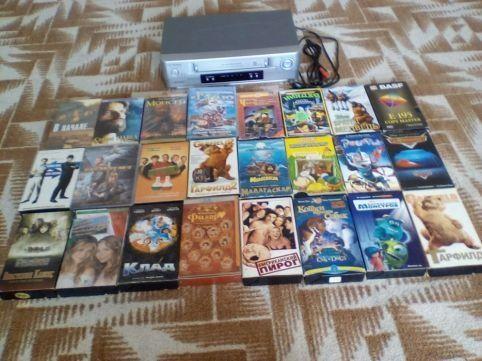 Видео кассеты 24 шт.