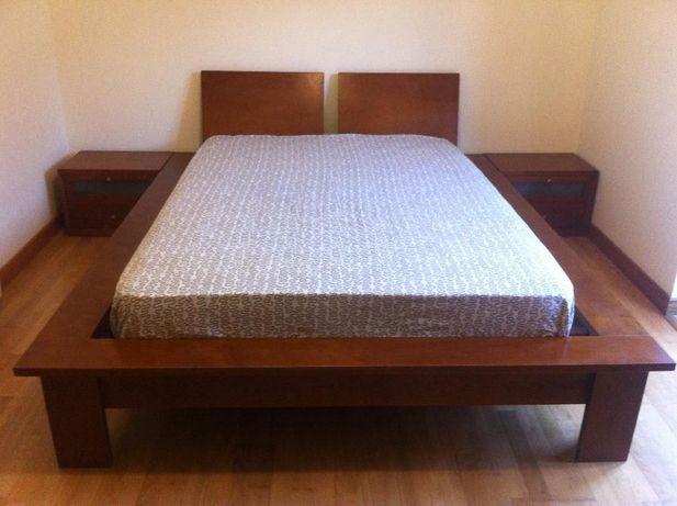 Mobília de quarto casal completo - estilo contemporâneo