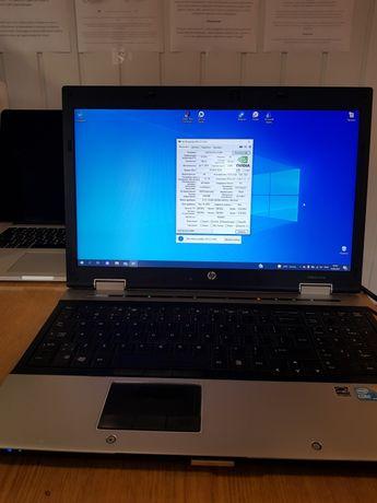 Ноутбук HP игровой, видеокарта 1gb, ОЗУ 8гб, ssd 250gb + hdd 320gb
