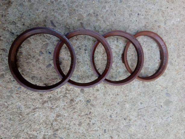 Pierścienie centrujące do felg aluminiowych