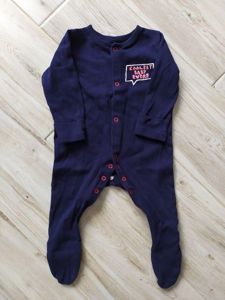 Pajacyk piżamka chłopięca niemowlęca 68 74