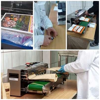 Konfekcjonowanie, foliowanie, pakowanie - ręczne i maszynowe
