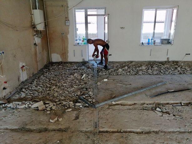 Демонтаж стен,перегородок,стяжки,грузчики,вывоз мусора,хлама