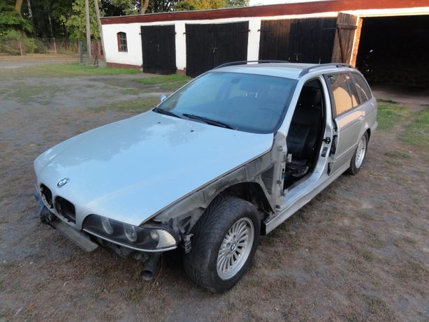 Części BMW E39 530d 3.0d M57 193KM Cała na części Titansilber